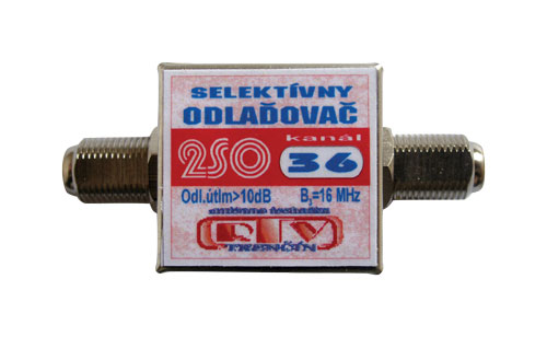 Anténní zádrž 1SO36 10dB  F-F