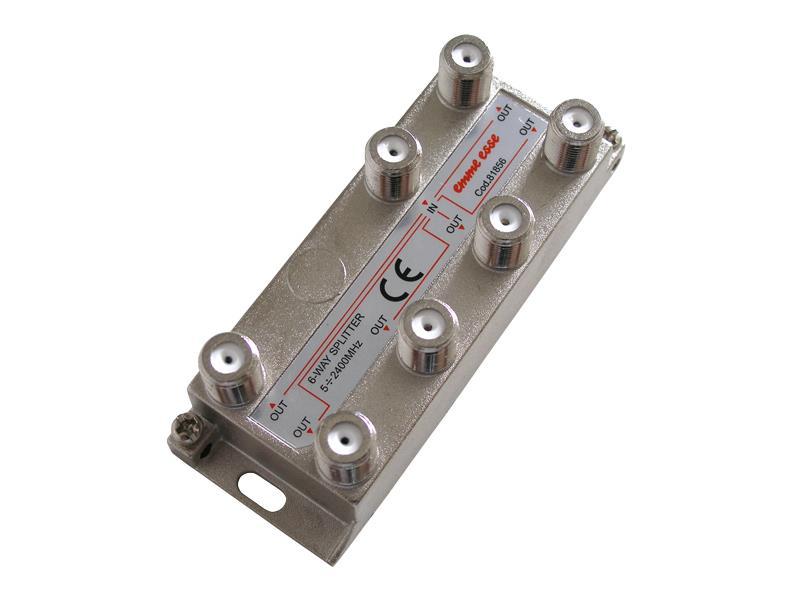 EMME ESSE Anténní rozbočovač PV6 (6výstupy) - Emme Esse