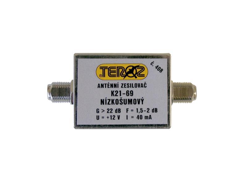 Anténní zesilovač UHF 22dB F-F Teroz