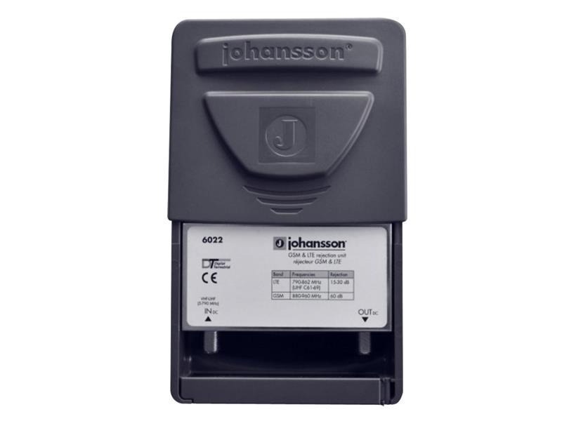Anténní filtr Johansson 6022, na stožár, filtr LTE,dolní propust DC až 790MHz