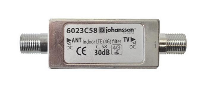 Anténní filtr LTE Johansson 66023C58 - LTE/4G filter