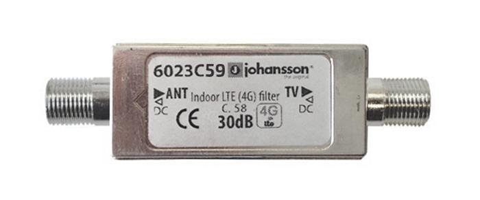 Anténní filtr LTE Johansson 6023C59
