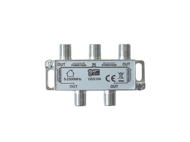 Anténní rozbočovač GoSat GSS104  4 výstupy
