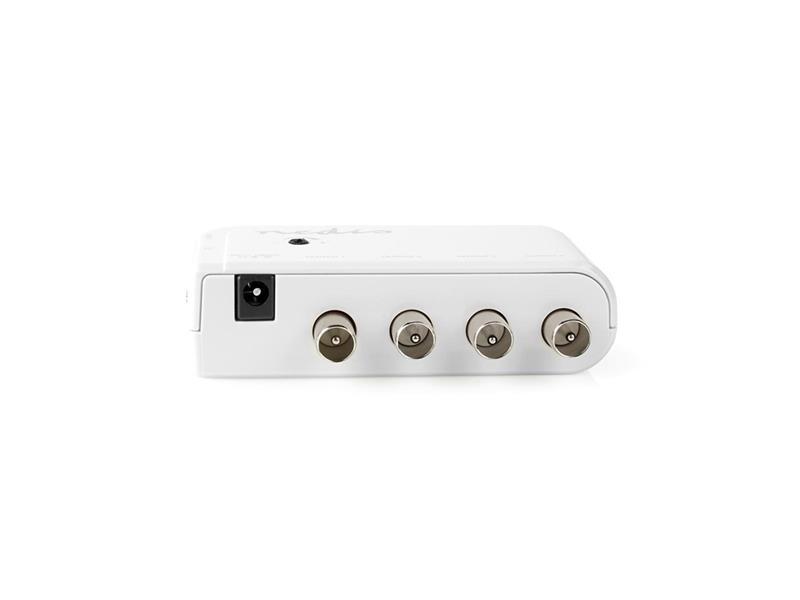 Anténní zesilovač NEDIS SAMP40040WT 10 dB 4 výstupy