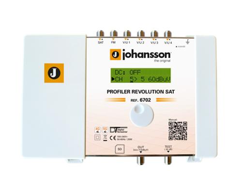 Anténní zesilovač programovatelný Johansson 6702 Profiler Revolution SAT