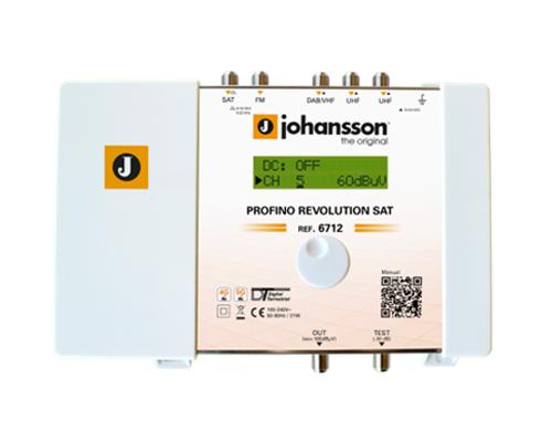Anténní zesilovač programovatelný Johansson 6712 Profino Revolution SAT
