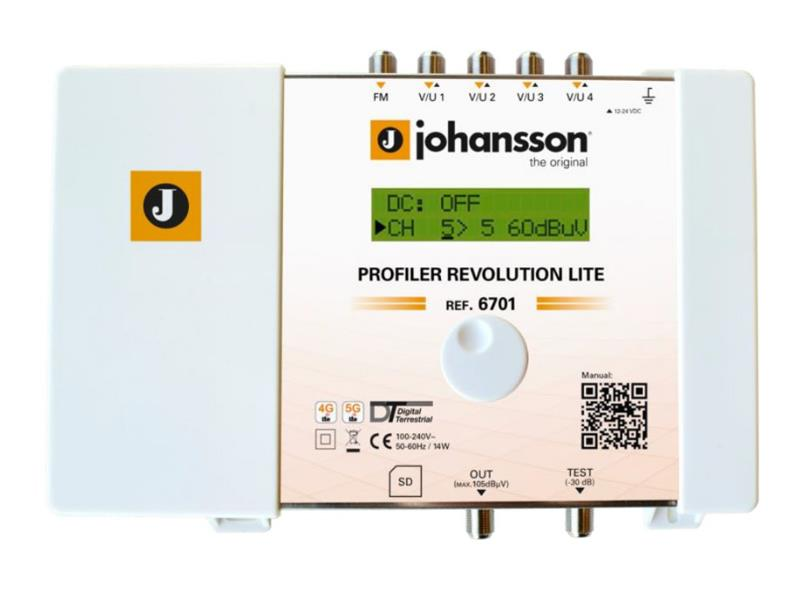Anténní zesilovač programovatelný Johansson 6701 Profiler LITE