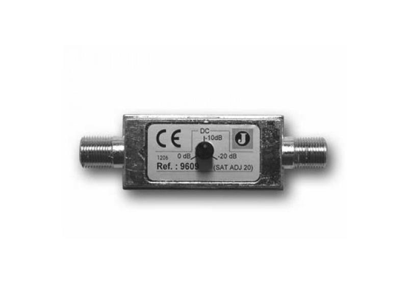 Satelitní útlumový článek Johansson 9609 s regulací 0-20 dB