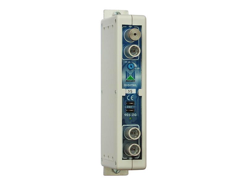 Anténní zesilovač Alcad ZG421 pro společné TV antény, 24.kanál