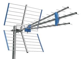 Anténa venkovní Emme Esse 45SLC, LTE free, modrá ve folii, 1145mm