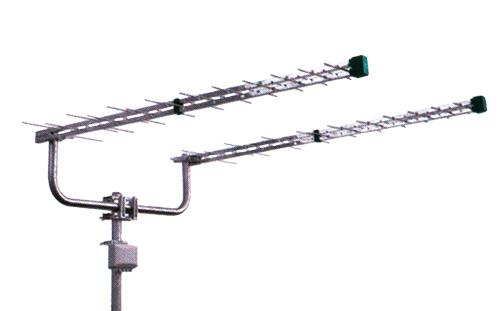 Anténa venkovní Emme Esse 2160KITL (antenní dvojče logperi 2x1310mm,konzola,slučovač)