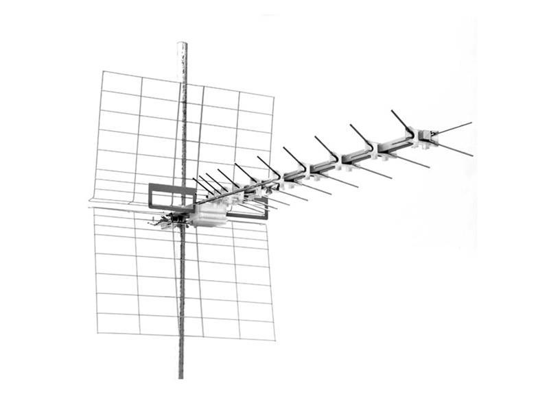 Anténa venkovní Emme Esse 44LX45L, k.21 až 60, LTE free, 1170mm