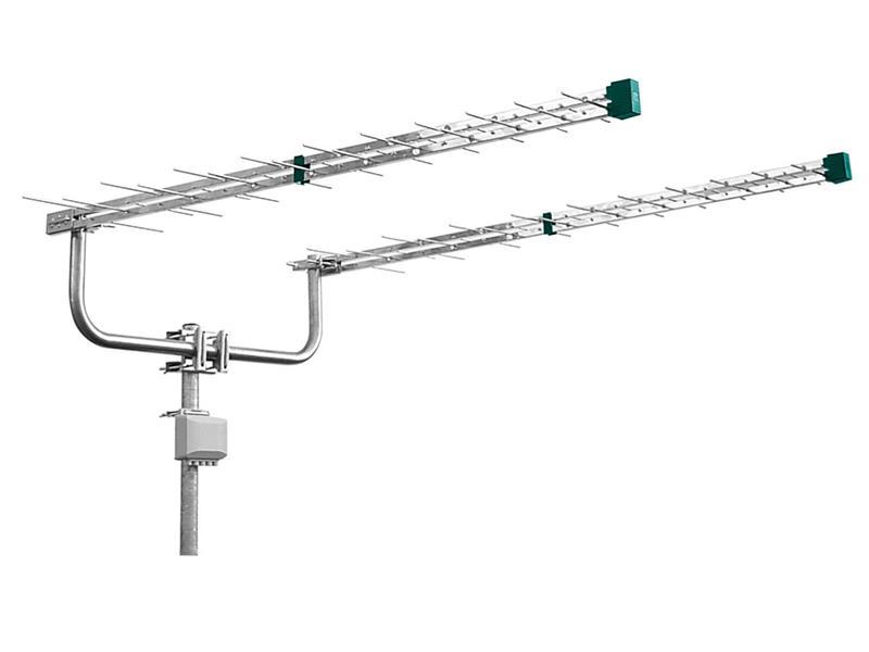 Anténa venkovní Emme Esse 2148KIT (antenní dvojče log. peri. 2x1310mm,konzola,slučovač)