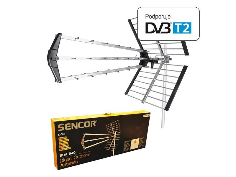 Anténa venkovní SENCOR SDA-640