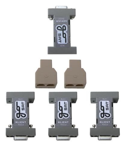 Splitter kabelový pro sat. přijímače GoSat - 1xServer - 3xKlient DOPRODEJ