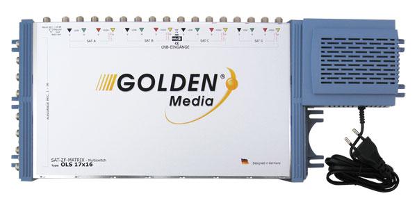 Satelitní multipřepínač Golden Interstar GI-17/16