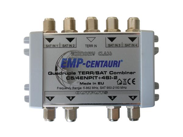 Slučovač TV/SAT 4x EMP C5/4ENP-2 (E.107-A), vnitřní