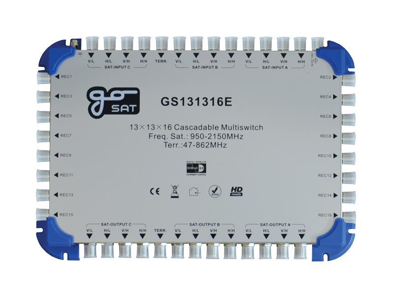 Satelitní multipřepínač GoSAT GS131316E