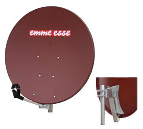 Satellite dish 100AL Emme Esse red