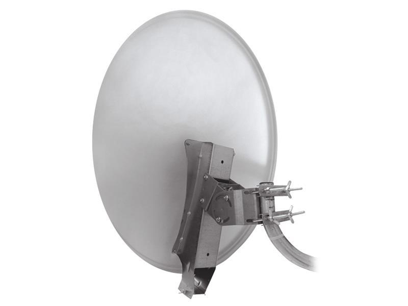 Emme Esse Satelitní parabola 85AL, profi se systémem Clarkalign bílá