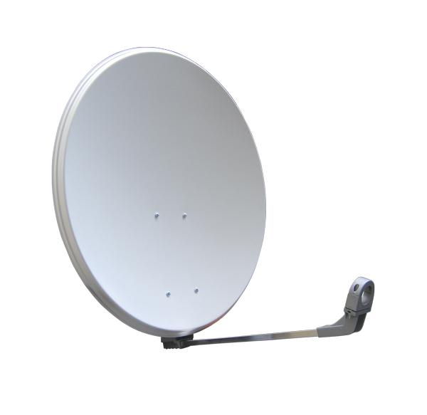 Emme Esse Satelitní parabola 80FE, bílá s plastovými zády