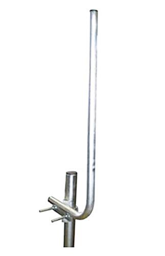 Anténní držák síta na stožár s třmenem průměr trubky 28mm TPG výška 60cm