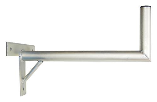 Anténní držák 50 na zeď se vzpěrou průměr 42mm výška 16cm