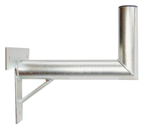 Anténní držák 35 na zeď se vzpěrou průměr 42mm výška 16cm žár.