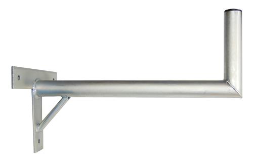 Anténní držák 50 na zeď se vzpěrou průměr 42mm výška 16cm žár.