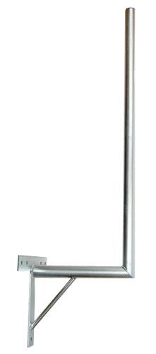 Anténní držák 35 na zeď se vzpěrou průměr 42mm výška 96cm
