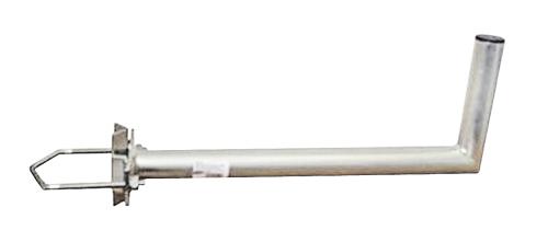 Anténní držák 50 na stožár s vinklem průměr 42mm žár.