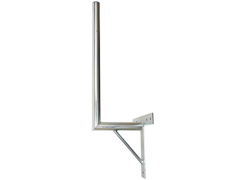 Anténní držák 25 na zeď se vzpěrou průměr 42mm výška 70cm žár.