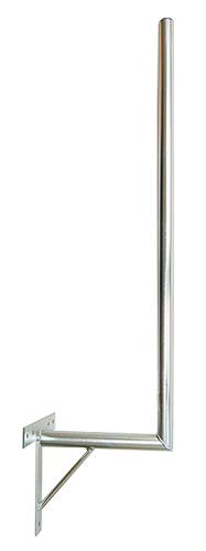 Anténní držák 35 na zeď se vzpěrou průměr 42mm výška 116cm žár.