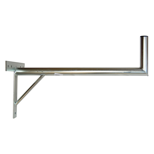 Anténní držák 70 na zeď se vzpěrou průměr 42mm výška 16cm žár.