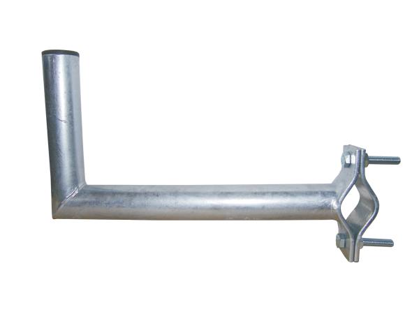Anténní držák 35 na balkon s vlnkou průměr 42mm výška 16cm