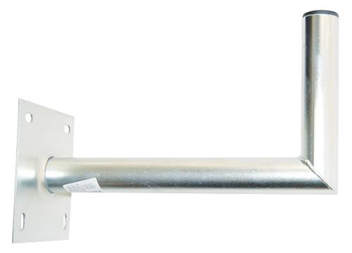Anténní držák 35 na zeď se základnou 16x16 průměr 42mm výška 16cm žár.