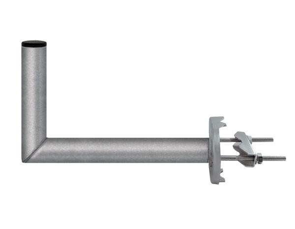 Anténní držák 35 na stožár s třmenem průměr 42mm výška 16cm
