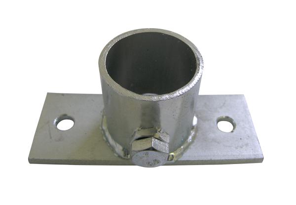 Držák stožáru patní krátký TPG 35mm