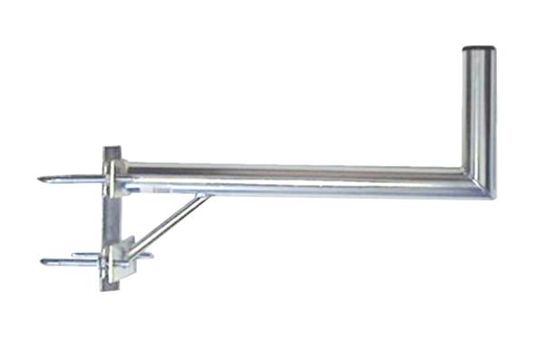 Anténní držák 70 na stožár s vinklem a vzpěrou průměr 42mm výška 16cm