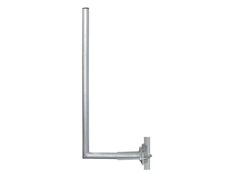 Anténní držák síta 25 na stožár s vinklem průměr trubky 28mm výška 60cm