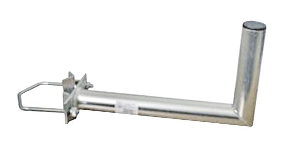 Anténní držák 25 na stožár s vinklem rozteč třmenu 150mm průměr 42mm