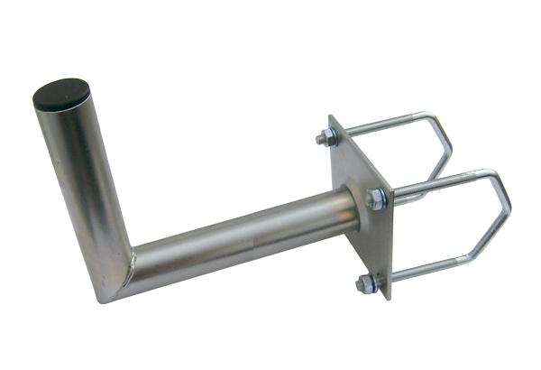 Anténní držák 50 na balkon na hranaté zábradlí průměr 42mm