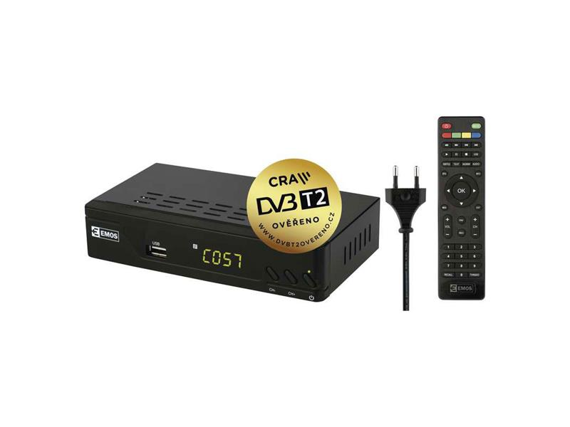 Set-top box EMOS EM170 HD