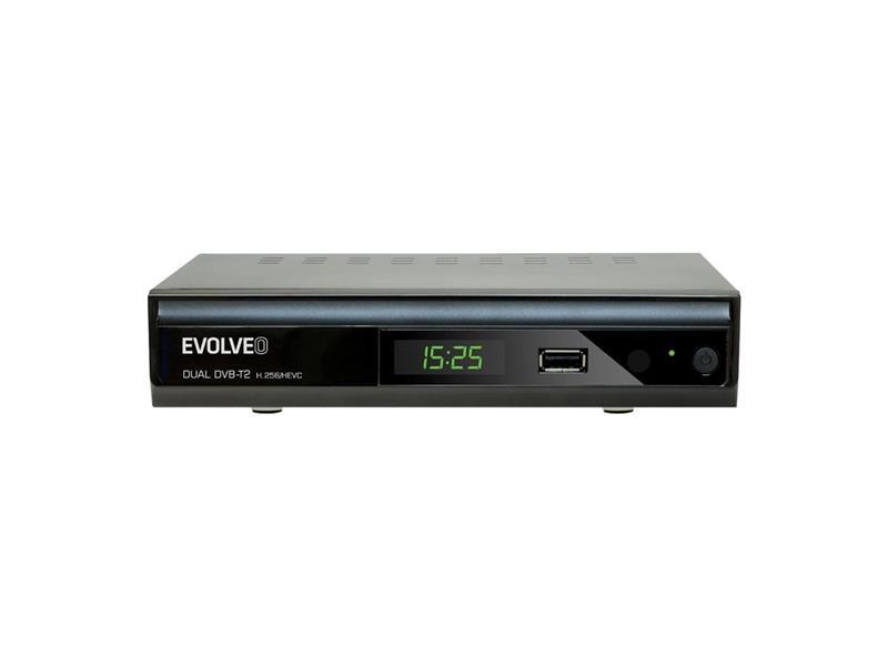 Set-top box EVOLVEO GAMMA T2 Dual HD DVB-T2 H.265/HEVC rekordér