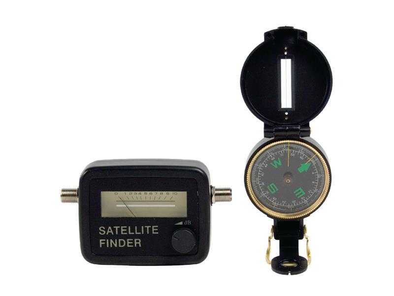 Souprava pro vyhledávání satelitů KÖNIG SATFINDER-KIT