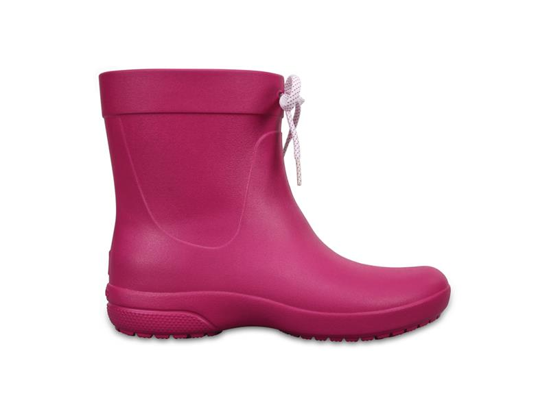 Boty Crocs Freesail Shorty RainBoot - Berry W7 (37-38)