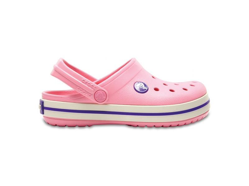Boty Crocs Crocband Kids - Peony Pink/Stucco C12 (29-30)