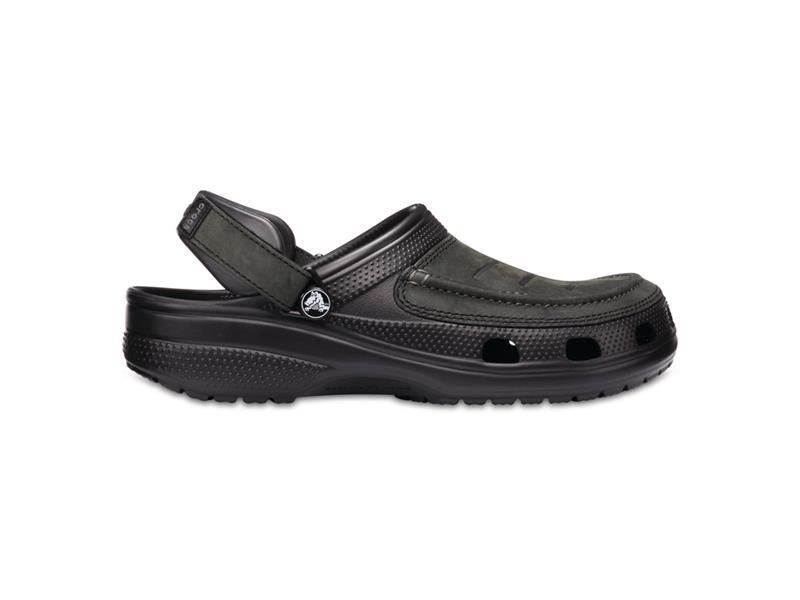 Boty Crocs Yukon Vista Clog - Black/Black M8 (41-42)