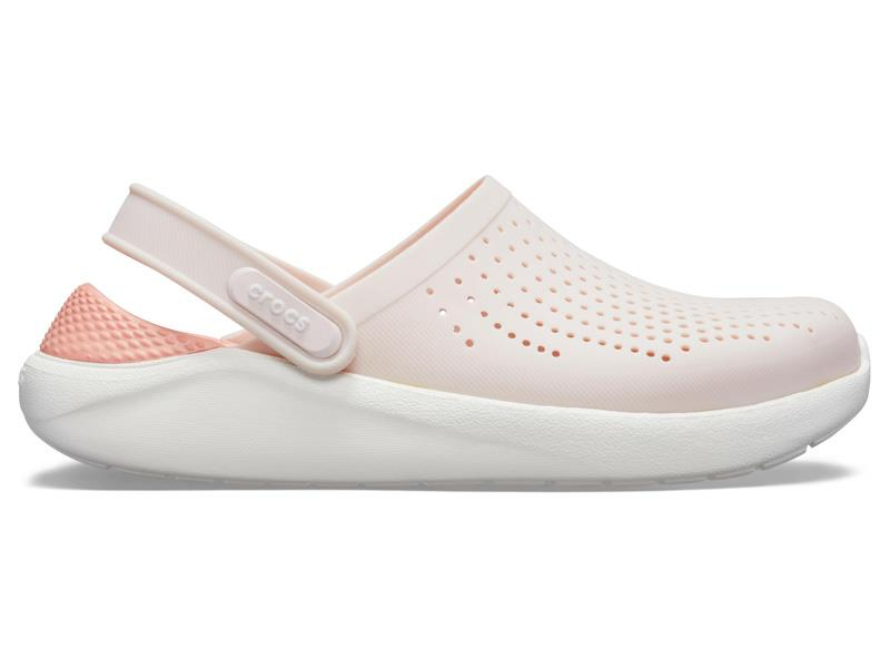 CROCS LITERIDE CLOG - Barely Pink/White M8/W10 (41-42)