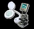 Lupy a mikroskopy